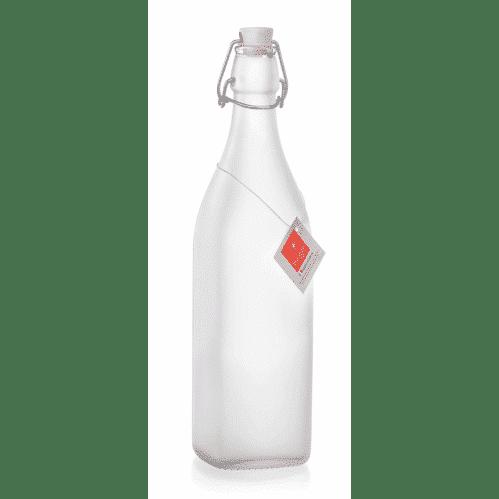 Fles 1 Liter Frosted Met Beugel Swing (Set van 6)