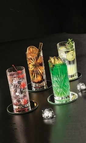 RCR Mixology Set Longdrinkglazen Mixology (Set Van 4)