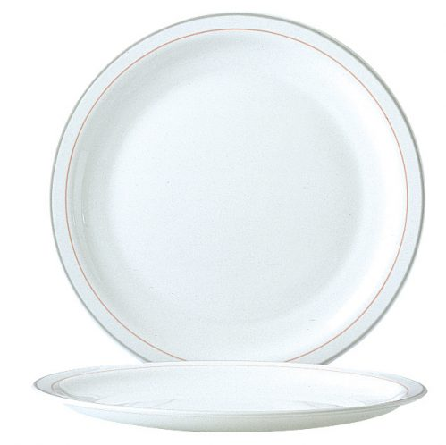 Restaurant Valerie Bord 258Mm Coral (Set van 6)