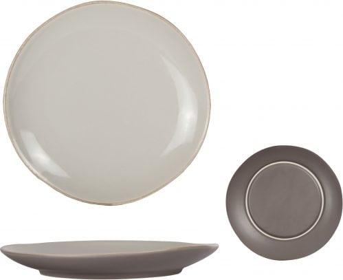 Oleada Taupe Dessertbord D21Cm (Set van 12)