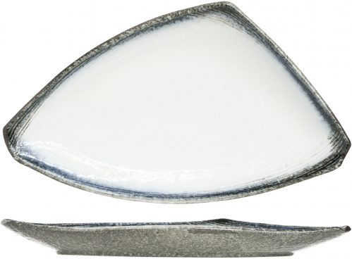Sea Pearl Bord Driehoek 40 x 23 x h3Cm (Set van 2)