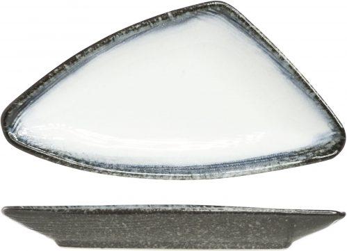 Sea Pearl Bord Driehoek 20 x 10 x h2Cm (Set van 5)