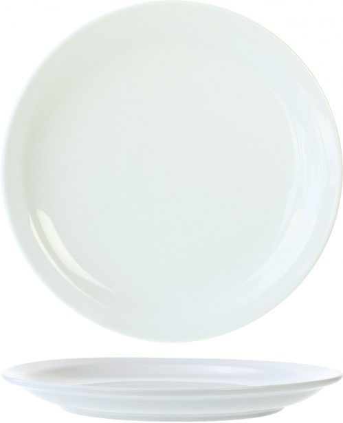 Everyday White Plat Bord 23,5Cm (Set van 6)