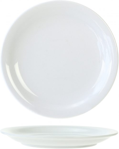 Everyday White Plat Bord 18,5Cm (Set van 6)