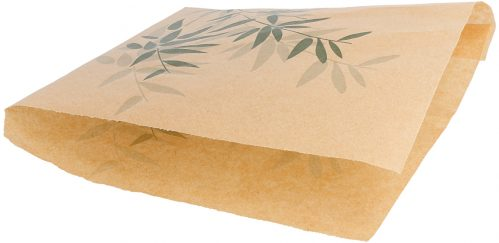 """Vetvrij papier zak """"Feel Green"""" 18x17cm 500-pak"""