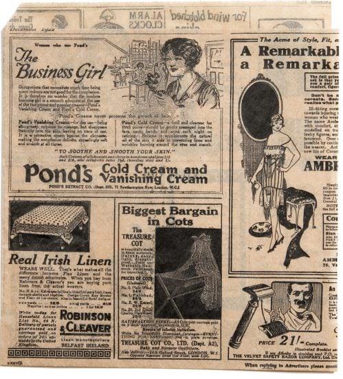 "Vetvrij papier zak""Newspaper Brown""18x17cm 500-pak"