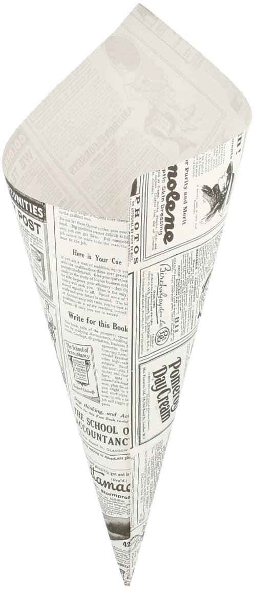 """Vetvrij papier puntzak """"Times"""" 34x24cm 250-pak"""