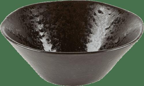 Q Authentic Stone Black kom 16,5 cm (Set van 6)