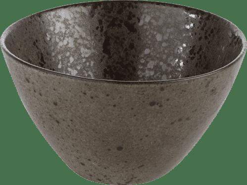 Q Authentic Stone Black kom 15 cm (Set van 6)
