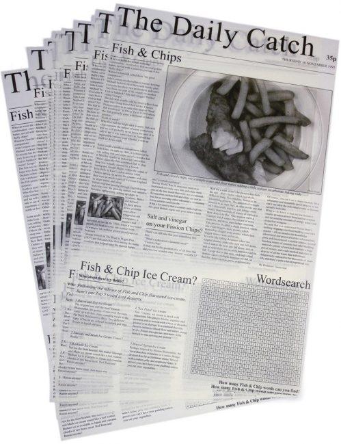 LUX410 Vetvrij papier'The Daily Catch'20x27cm 500x