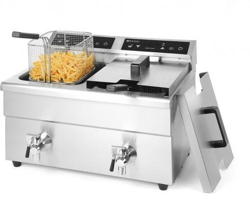 Inductie friteuse kitchen line – 2 x 8 Liter