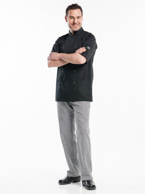 Koksbuis Chaud Devant Hilton Poco Black Short Sleeve L