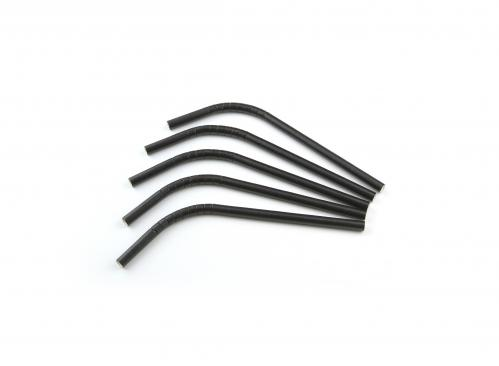 Rietjes Buig Papier FSC Zwart 8 mm / 21cm (Set van 100 Stuks)