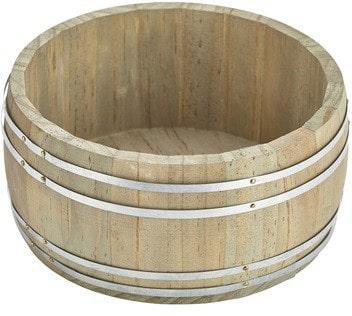 Houten vat 16,5 x 8 cm