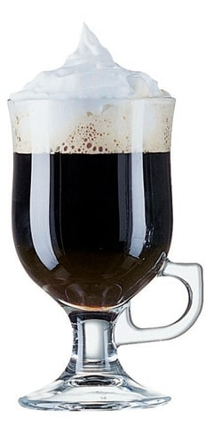 Irish coffeeglas mazagran 24 cl (Set van 6)