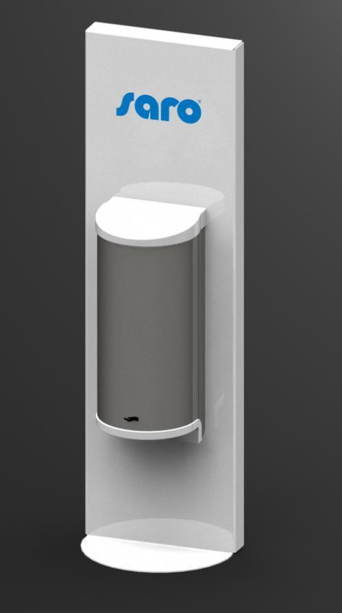 Dispenser voor handdesinfectie (no touch) 20W – Wit