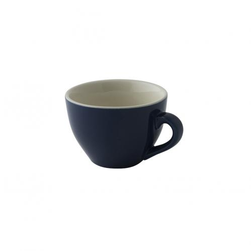 Kop 18 cl cappuccino blauw Colors (Set van 6)