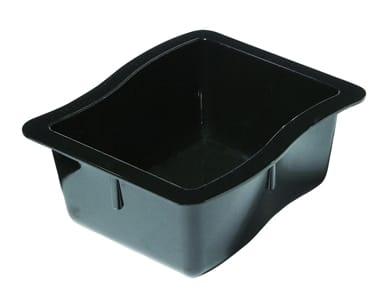 Schaal Gastronorm 1/6 65 mm diep zwart Modular Deli (Set van 6)