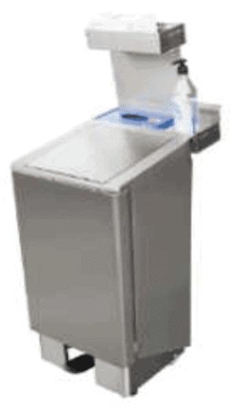 Hygiene stand – Hygiene adapter voor afvalbak 60 & 90 ltr