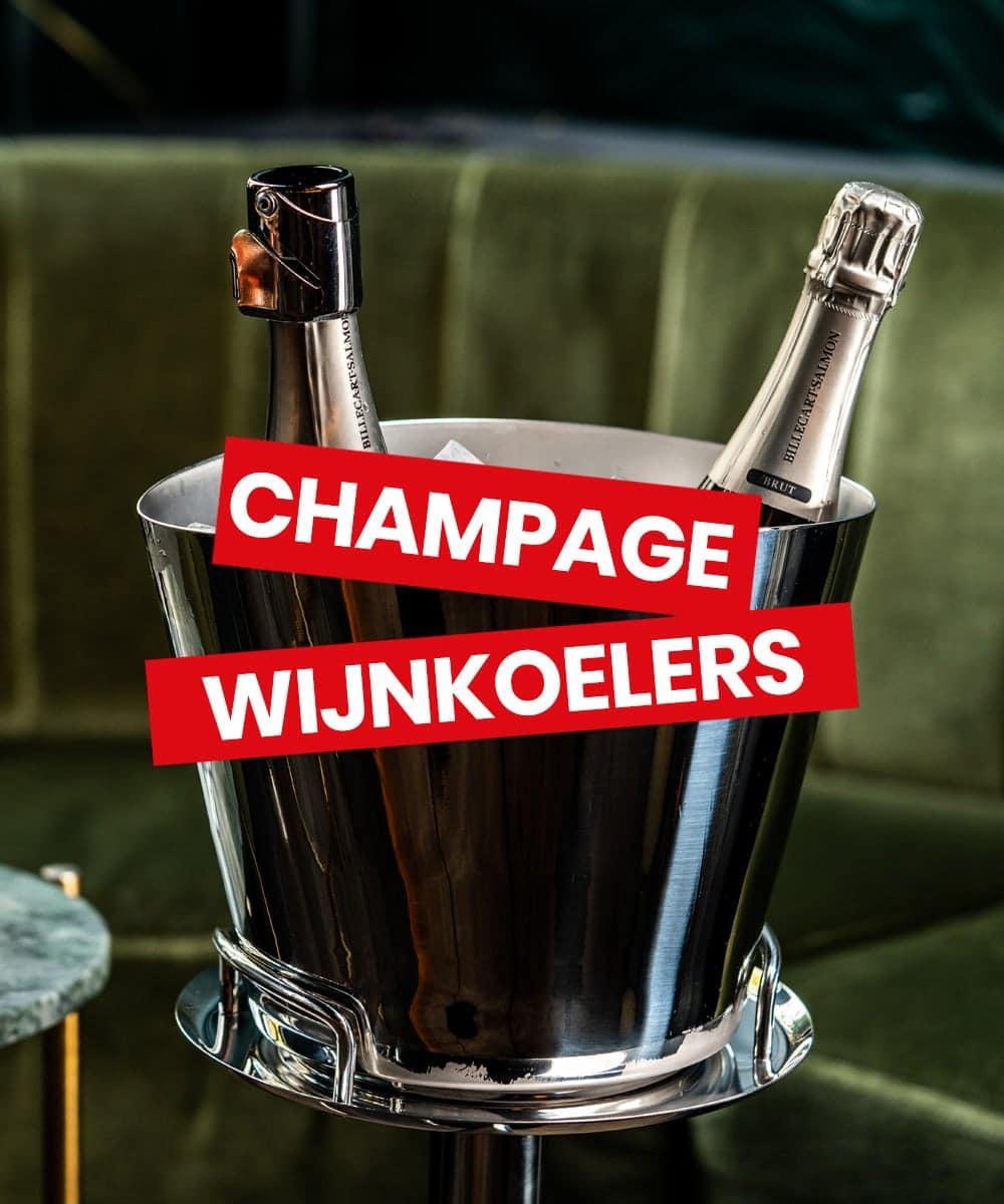 Wijnkoeler & champagnekoeler