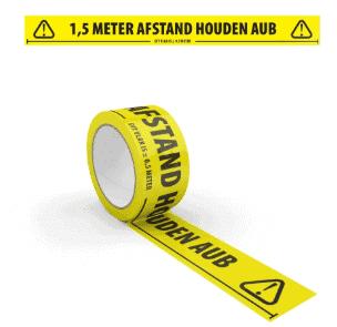 Houd Afstand Vloertape PVC 50 mm * 66 m