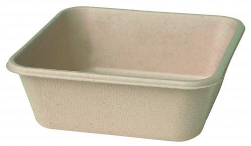 Duni Bagasse Ecoecho Boxes Bruin 900 ml (Set van 360)