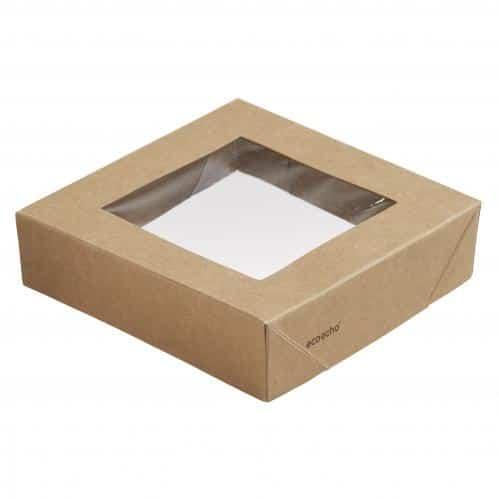 Duni Viking Ecoecho Deksel Cube Met Venster (Set van 300)