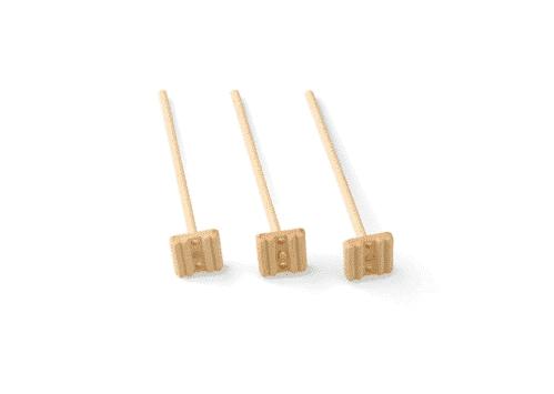 Tonicstamper Bamboe ECO 11 cm (Set van 100)