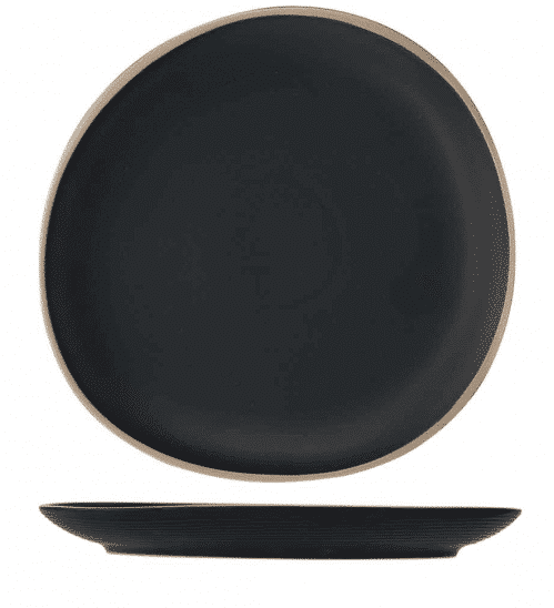 Galloway Black Plat Bord 26 cmm (Set van 4)